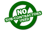 nosubcontractors - High Profile Grounds