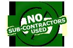 nosubcontractors